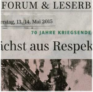 Richard Motsch: Leserbrief